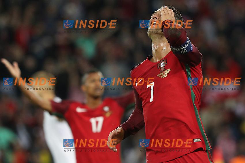Cristiano Ronaldo (Por)<br /> Paris 18-06-2016 Parc Des Princes Football Euro2016 Portugal - Austria / Portogallo - Austria Group Stage Group F. Foto Michel Baucher / Panoramic / Insidefoto