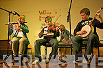 The Curtin family, Suzanne, Darragh and Gearoid preform live on stage for The Brosna Varity Show last Friday night.
