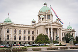 SERBIA, Belgrade, National Assembly of Serbia building, Eastern Europe