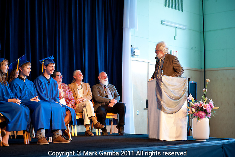 Farewell Assembly and High School Graduation for the 2011 class at the Portland Waldorf High School