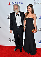 LOS ANGELES, CA. February 08, 2019: Bob Weir &amp; Monet Weir at the 2019 MusiCares Person of the Year Gala honoring Dolly Parton at the Los Angeles Convention Centre.<br /> Picture: Paul Smith/Featureflash