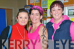 Rumble in Listowel :  the white collar boxing charity event organized by the Kerry Crusaders in The Listowel Community Centre on Friday night last Annie Riordan, Collette McCormac & Marie Kelly.