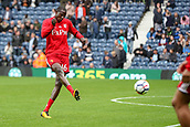 30th September 2017, The Hawthorns, West Bromwich, England; EPL Premier League football, West Bromwich Albion versus Watford; Abdoulaye Doucouré of Watford warms-up prior to the match
