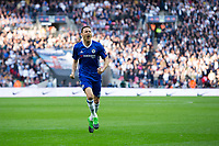 Chelsea's Nemanja Matic celebrates scoring his sides fourth goal        <br /> <br /> <br /> Photographer Craig Mercer/CameraSport<br /> <br /> Emirates FA Cup Semi-Final - Chelsea v Tottenham Hotspur - Saturday 22nd April 2017 - Wembley Stadium - London<br />  <br /> World Copyright &copy; 2017 CameraSport. All rights reserved. 43 Linden Ave. Countesthorpe. Leicester. England. LE8 5PG - Tel: +44 (0) 116 277 4147 - admin@camerasport.com - www.camerasport.com