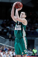Zalgiris Kaunas' Paulius Jankunas during Euroleague 2012/2013 match.January 11,2013. (ALTERPHOTOS/Acero) NortePHOTO