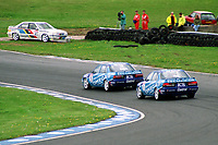 1992 British Touring Car Championship. #1 Will Hoy (GBR) & #3 Andy Rouse (GBR). Team Securicor ICS Toyota. Toyota Carina.