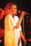 Various live photographs of female vocalist, Belinda Carlisle