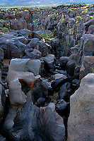 730850335 lava rocks and formations looking west over fossil falls blm protected lands inyo county california