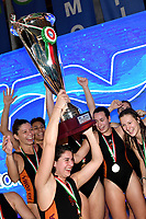 Esultanza SIS Roma vincitrice della Coppa Italia <br /> Roma 06/01/2019 Centro Federale  <br /> Final Six Pallanuoto Donne Coppa Italia <br /> SIS Roma - Rapallo Pallanuoto Finale 1-2 posto<br /> Foto Andrea Staccioli/Deepbluemedia/Insidefoto  Esultanza SIS Roma vincitrice della Coppa Italia <br /> Roma 06/01/2019 Centro Federale  <br /> Final Six Pallanuoto Donne Coppa Italia <br /> SIS Roma - Rapallo Pallanuoto Finale 1-2 posto<br /> Foto Andrea Staccioli/Deepbluemedia/Insidefoto