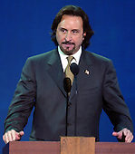 New York, NY - August  30, 2004 --  Actor Ron Silver speaks in support of United States President George W. Bush at the 2004 Republican National Convention in Madison Square Garden in New York, New York on Monday, August 30, 2004..Credit: Ron Sachs / CNP .(RESTRICTION: No New York Metro or other Newspapers within a 75 mile radius of New York City)