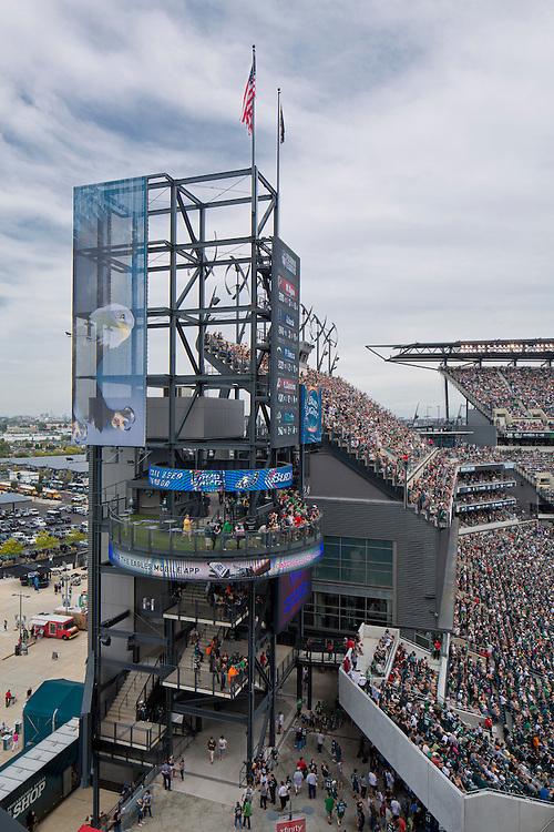 Philadelphia's Eagle Stadium