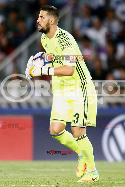 Real Madrid's Kiko Casilla during La Liga match. August 21,2016. (ALTERPHOTOS/Acero) /NORTEPHOTO.COM