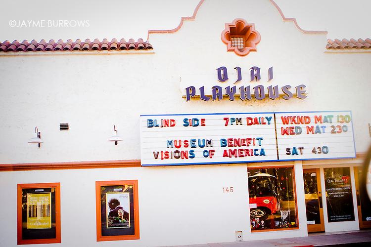 Ojai Playhouse, Ojai, California