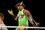 Fatal Four way Tag team championship match between the New Day, The Usos, Hype Bros and Breezango at the WWE Live In El Paso, Don Haskins Center September 25, 2017