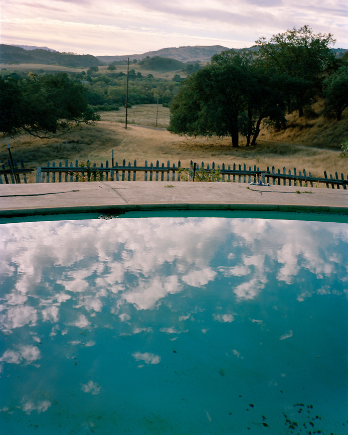 Swimming pool in Hollister, California, USA