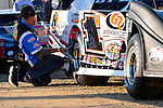 Oct 18, 2013; 5:27:08 PM; Portsmouth, OH ., USA; The 33rd Annual RED BUCK Dirt Track World Championship Presented by Borrowed Blue at Portsmouth Raceway Park, a $50,000-to-win event on the Lucas Oil Late Model Dirt Series.  Mandatory Credit: (thesportswire.net)