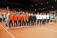 22-9-06,Leiden, Daviscup Netherlands-Tsjech Republic, Openings Ceremony