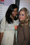 One Life To Live Nefessa Williams & Kristen Alderson at My Big Gay Italian Wedding on March 18, 2011 (also 3-17- & 3-20) at St. Luke's Theatre, New York City, New York. (Photo by Sue Coflin/Max Photos)