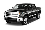 2016 Toyota Tundra SR-Crew 4 Door Pickup Angular Front stock photos of front three quarter view