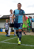Garry Thompson of Wycombe Wanderers comes out for the Friendly match between Maidenhead United and Wycombe Wanderers at York Road, Maidenhead, England on 30 July 2016. Photo by Alan  Stanford PRiME Media Images.