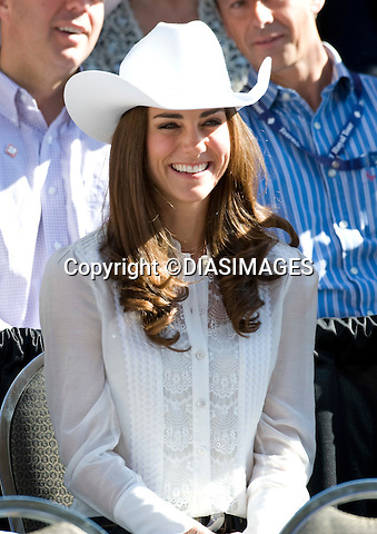 "PRINCE WILLIAM & KATE CANADA.attend the Calgary Stampede, Calgary_08/07/2011.Mandatory Credit Photo: ©DIASIMAGES. .**ALL FEES PAYABLE TO: ""NEWSPIX INTERNATIONAL""**..IMMEDIATE CONFIRMATION OF USAGE REQUIRED:.DiasImages, 31a Chinnery Hill, Bishop's Stortford, ENGLAND CM23 3PS.Tel:+441279 324672  ; Fax: +441279656877.Mobile:  07775681153.e-mail: info@newspixinternational.co.uk"