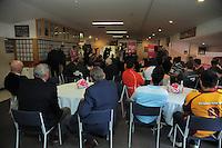 A general view of the Pink Batts Heartland Championship 2013 season launch at Waikanae RFC, Waikanae, New Zealand on Tuesday, 13 August 2013. Photo: Dave Lintott / lintottphoto.co.nz