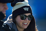 Wake Forest Demon Deacons On-Campus Recruiting Coordinator Candra Howell prior to the game against the Texas A&M Aggies at Bank of America Stadium on December 29, 2017 in Charlotte, North Carolina.  The Demon Deacons defeated the Aggies 55-52.  (Brian Westerholt/Sports On Film)