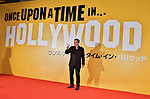 "Director Quentin Tarantino attends the Japan premiere for ""Once upon a time in Hollywood"" at the Tokyo Midtown Hibiya in Tokyo, Japan on August 26, 2019. (Photo by AFLO)"