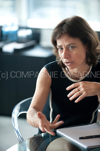 Dominique Leroy, CEO of Belgacom (Belgium, 18/06/2014)