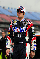 Apr 26, 2008; Talladega, AL, USA; NASCAR Sprint Cup Series driver Sam Hornish Jr during qualifying for the Aarons 499 at Talladega Superspeedway. Mandatory Credit: Mark J. Rebilas-US PRESSWIRE