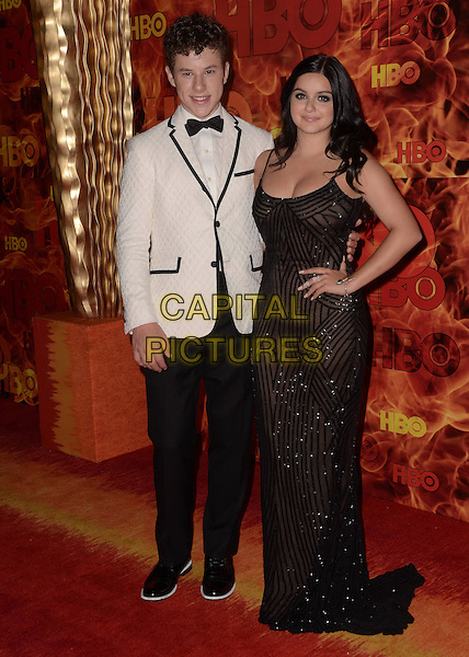 20 September  2015 - West Hollywood, California - Nolan Gould, Ariel Winter. Arrivals for the 2015 HBO Emmy Party held at the Pacific Design Center. <br /> CAP/ADM/BT<br /> &copy;BT/ADM/Capital Pictures