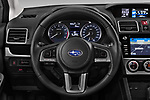 Car pictures of steering wheel view of a 2017 Subaru XV Premium 5 Door SUV