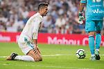 Real Madrid's Cristiano Ronaldo during La Liga match between Real Madrid and Real Betis at Santiago Bernabeu Stadium in Madrid, Spain September 20, 2017. (ALTERPHOTOS/Borja B.Hojas)
