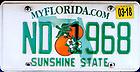 "September 30, 2017; Florida license plate ""ND 1968"""