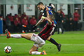 2018 Serie A Football AC Milan v Inter Milan Apr 4th