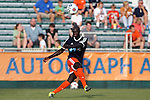 08 July 2015: Carolina's Mamadou Futty Danso (GAM). The Carolina RailHawks hosted the Fort Lauderdale Strikers at WakeMed Stadium in Cary, North Carolina in a North American Soccer League 2015 Fall Season match. The game ended in a 1-1 tie.