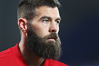 Joe Ledley of Wales prior to kick off of the International Friendly match between Wales and Panama at The Cardiff City Stadium, Wales, UK. Tuesday 14 November 2017