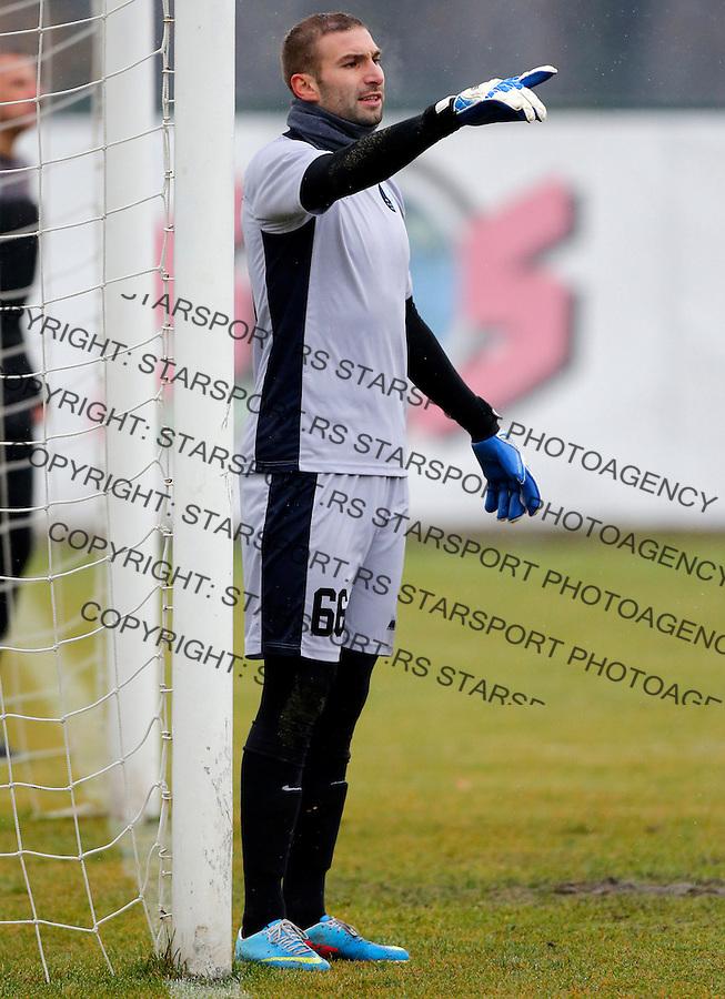 Milos Budakovic Super liga Srbije, Superliga, fudbal, Rad - Javor (Ivanjica)  Novembar 28. 2015. Beograd, Srbija, 28.11.2015.  (credit image & photo: Pedja Milosavljevic / STARSPORT)