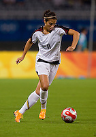 Carli Lloyd. The USWNT defeated Canada in extra time, 2-1, during the 2008 Beijing Olympics in Shanghai, China.