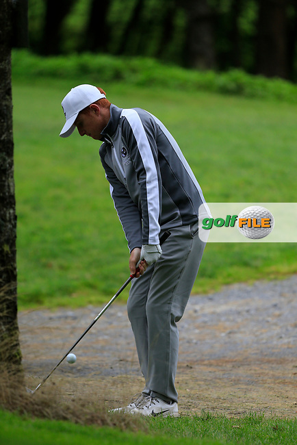 Ronan Mullarney (Connacht) during final day foursomes at the Interprovincial Championship 2018, Athenry golf club, Galway, Ireland. 31/08/2018.<br /> Picture Fran Caffrey / Golffile.ie<br /> <br /> All photo usage must carry mandatory copyright credit (© Golffile | Fran Caffrey)