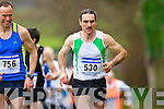 John Barrett in action at the Gneeveguilla AC Winter race in Killarney on Saturday