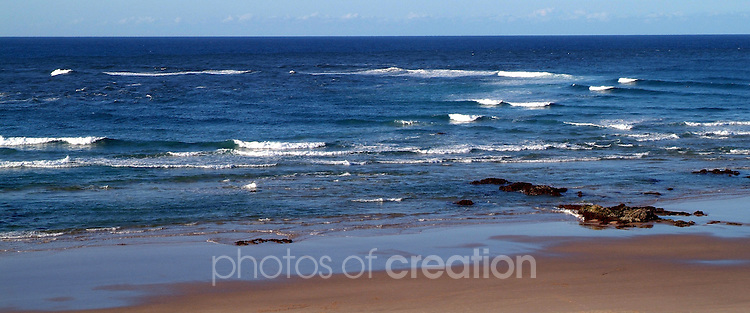 Wave Power at Town Beach Port Macquarie New South Wales Australia