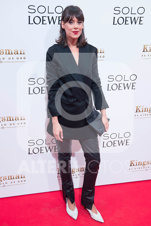 Belen Cuesta attends to the presentation of the new campaign of 'Solo Loewe' at Capitol Cinema in Madrid, Spain September 19, 2017. (ALTERPHOTOS/Borja B.Hojas)
