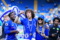 Chelsea defender David Luiz (30) celebrates the Premier League win during the Premier League match between Chelsea and Sunderland at Stamford Bridge on May 21st 2017 in London, England. <br /> Festeggiamenti Chelsea vittoria Premier League <br /> Foto Leila Cocker/PhcImages/Panoramic/Insidefoto