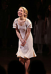 Elena Roger.during the Broadway Opening Night Performance Curtain Call for 'EVITA' at the Marquis Theatre in New York City on 4/5/2012