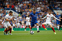 Mateo Kovačić of Chelsea dribbling during the Premier League match between Chelsea and Sheff United at Stamford Bridge, London, England on 31 August 2019. Photo by Carlton Myrie / PRiME Media Images.