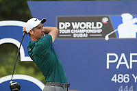 Ross Fisher (ENG) on the 16th tee during the 2nd round of the DP World Tour Championship, Jumeirah Golf Estates, Dubai, United Arab Emirates. 16/11/2018<br /> Picture: Golffile | Fran Caffrey<br /> <br /> <br /> All photo usage must carry mandatory copyright credit (© Golffile | Fran Caffrey)