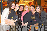 New Year's Eve Killarney, were l-r: Mairead Mangan, Sinead Cronin, Anne Mangan, Joanne O'Donoghue, Mags Cronin and Triona Mangan (All Killarney).