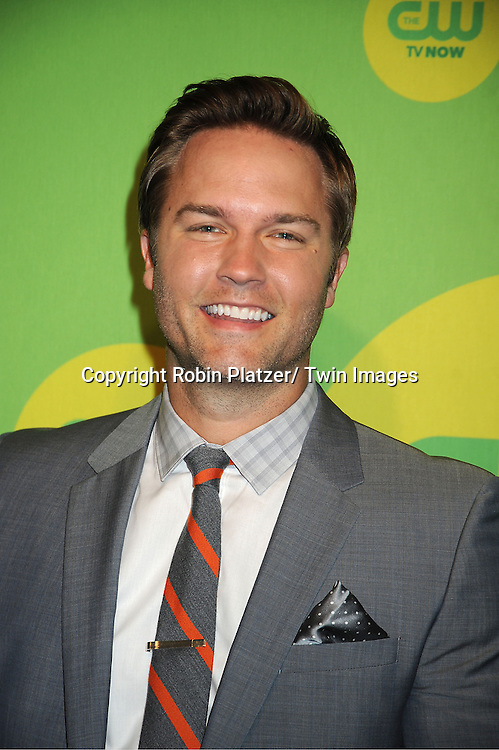 Scott Porter attends the CW Network's 2013 Upfront Presentation on May 16, 2013 at the London Hotel in New York City.