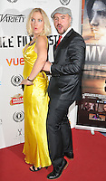 "Kat Gellin & Nathanael Wiseman attend the ""My Hero"" Raindance Film Festival UK film premiere, Vue Piccadilly cinema, Lower Regent Street, London, England, UK, on Friday 25 September 2015. <br /> CAP/CAN<br /> ©Can Nguyen/Capital Pictures"